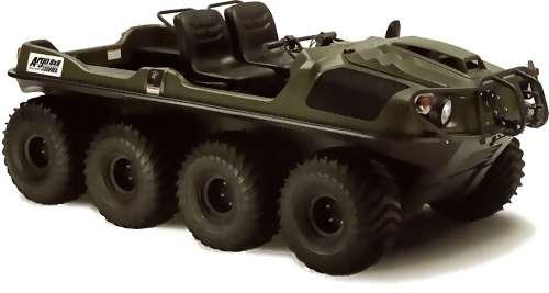 8X8 Amfibik Aracı
